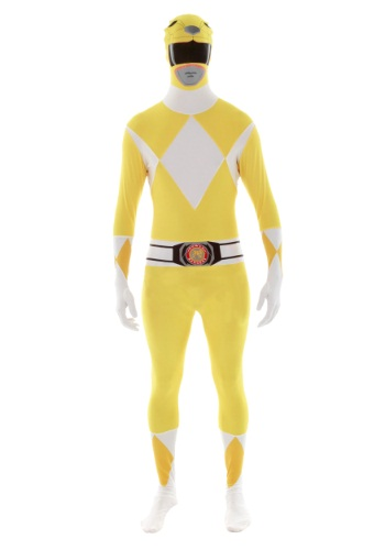 Click Here to buy Power Rangers: Yellow Ranger Morphsuit from HalloweenCostumes, USA Funds & Shipping