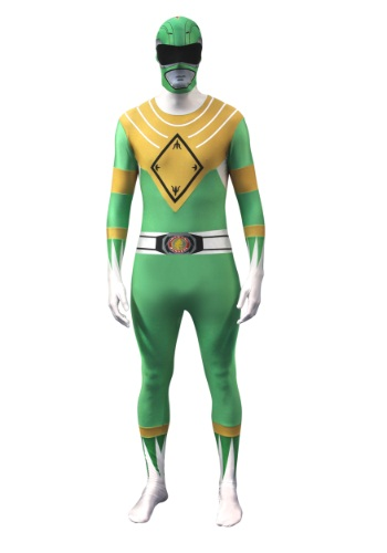 Click Here to buy Power Rangers: Green Ranger Morphsuit from HalloweenCostumes, USA Funds & Shipping