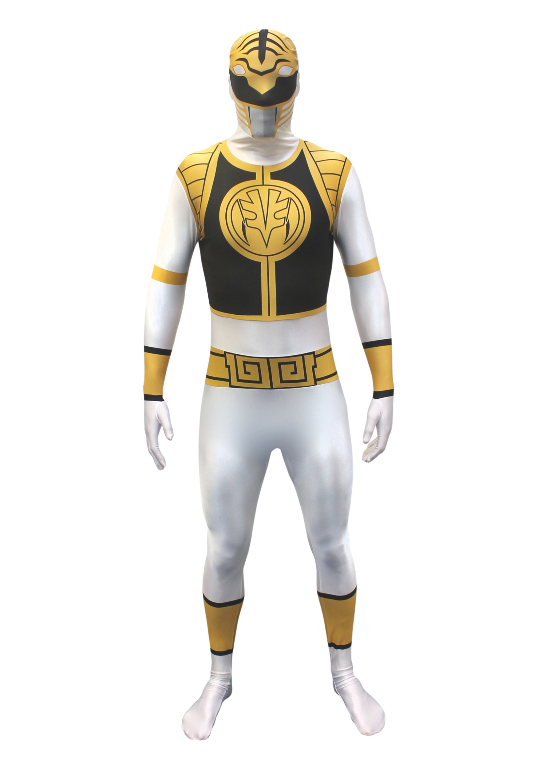 Power Rangers Yellow Ranger Costume Power Rangers White Ranger