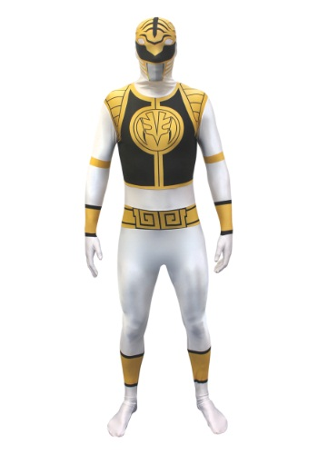 Click Here to buy Power Rangers: White Ranger Morphsuit from HalloweenCostumes, USA Funds & Shipping