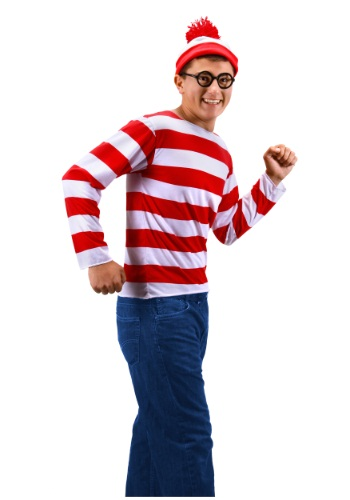 Click Here to buy Teen Wheres Waldo Costume from HalloweenCostumes, USA Funds & Shipping