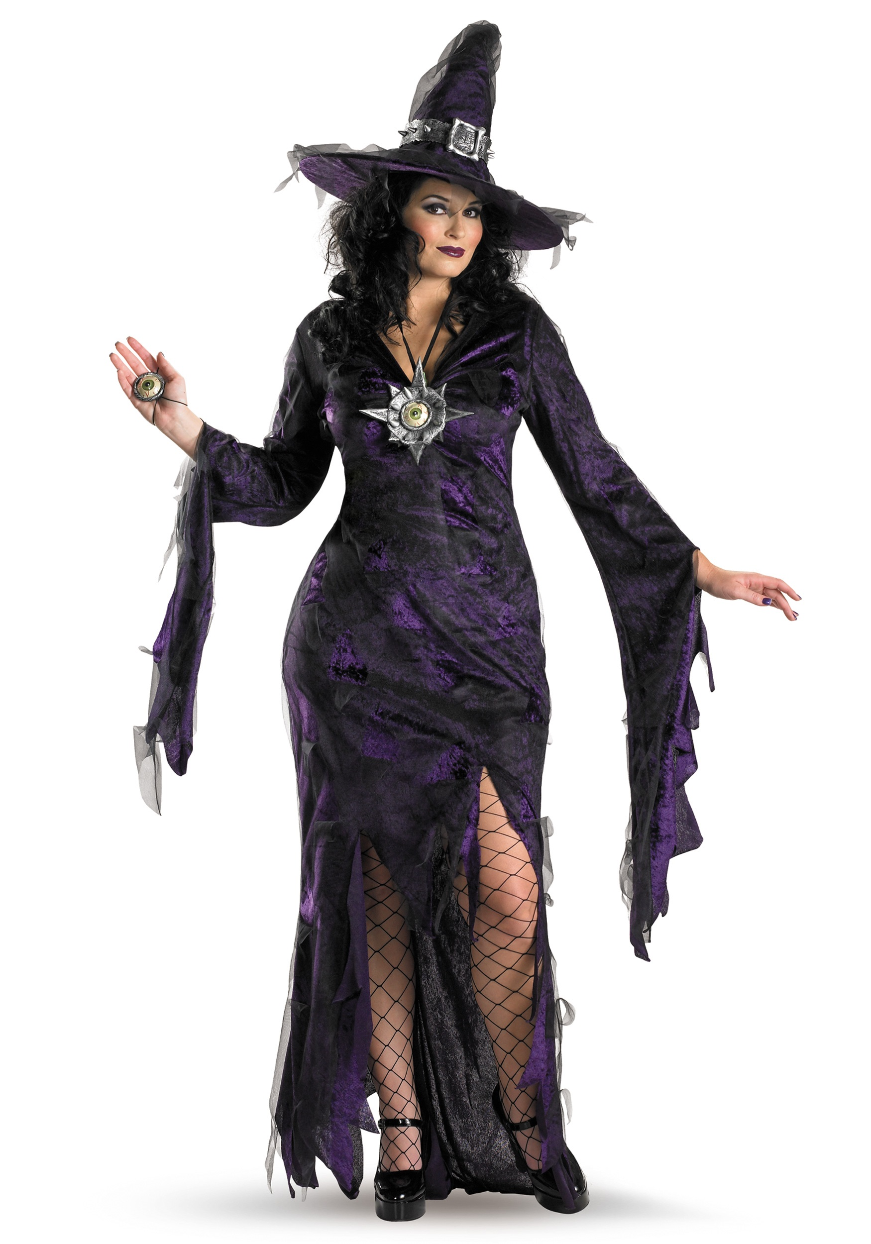 Sorceress Costume Accessories Plus Size Sorceress Costume