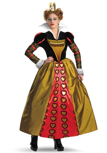 Click Here to buy Adult Red Queen Costume from HalloweenCostumes, USA Funds & Shipping
