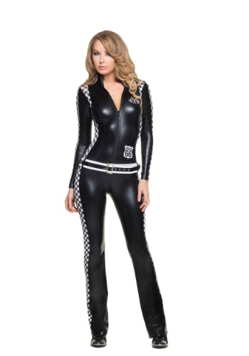 Women's Racer Girl Costume By: Mystery House for the 2015 Costume season.