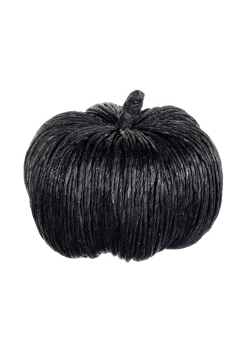 Click Here to buy 6.5 Inch Black Glittered Pumpkin from HalloweenCostumes, CDN Funds