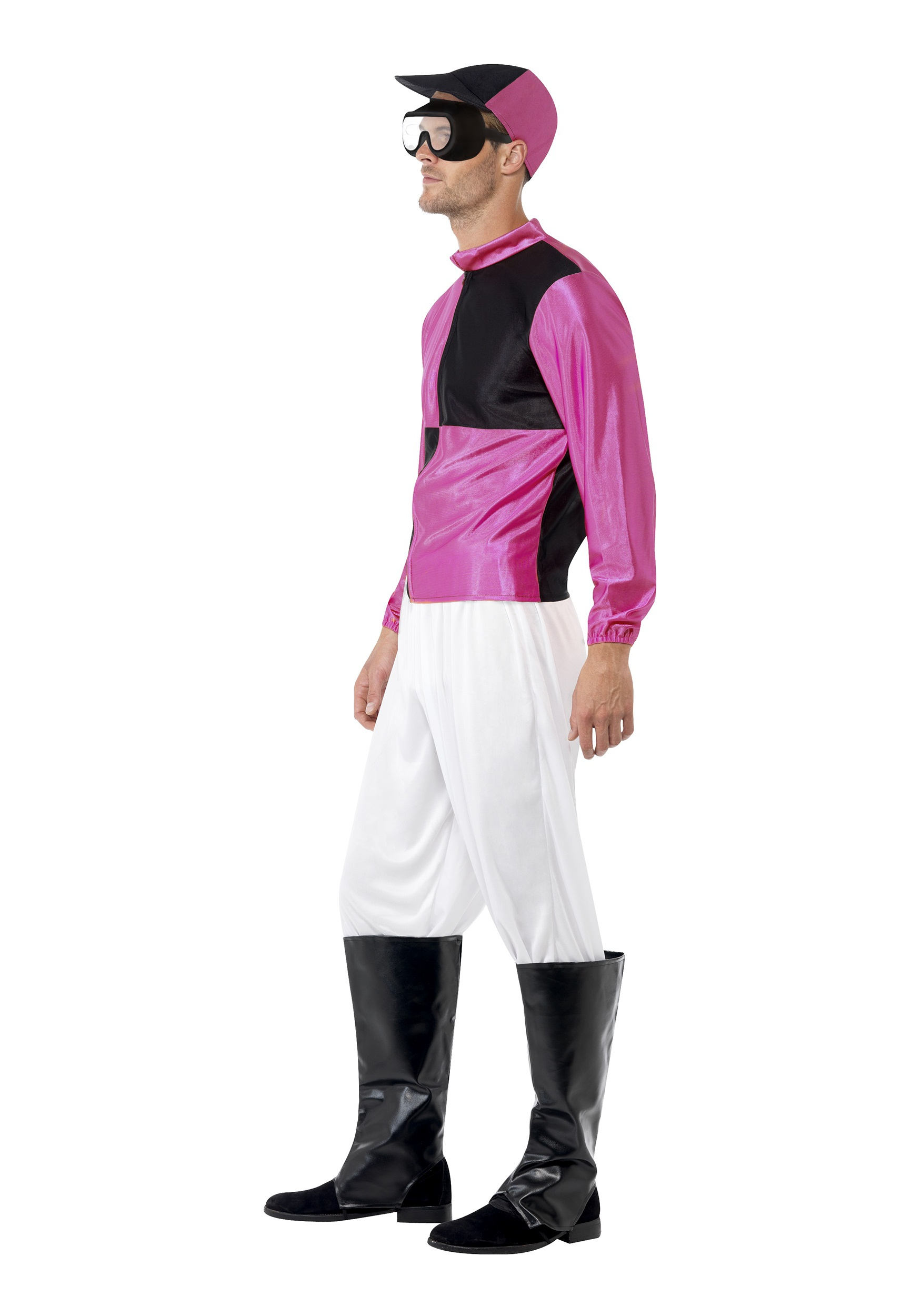 ... Mens Jockey Costume Side  sc 1 st  Halloween Costumes & Menu0027s Jockey Costume