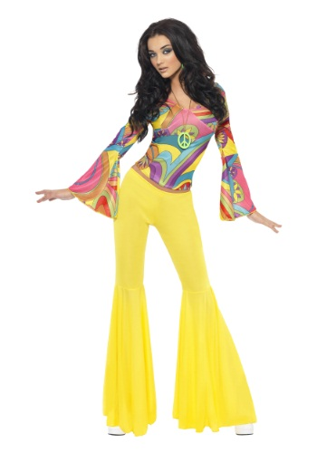 Womens Groovy Gal Costume By: Smiffys for the 2015 Costume season.