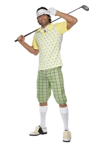 Mens Gone Golfing Costume