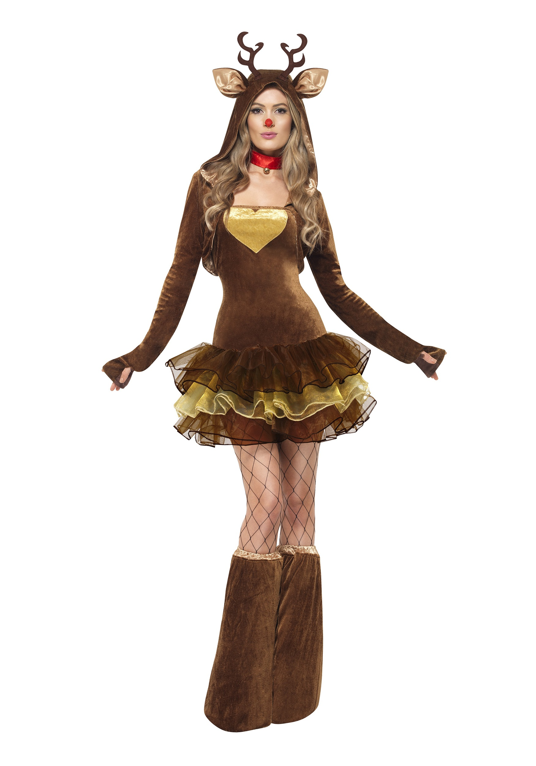Girl Reindeer Costume Womens Fever Reindeer Costume