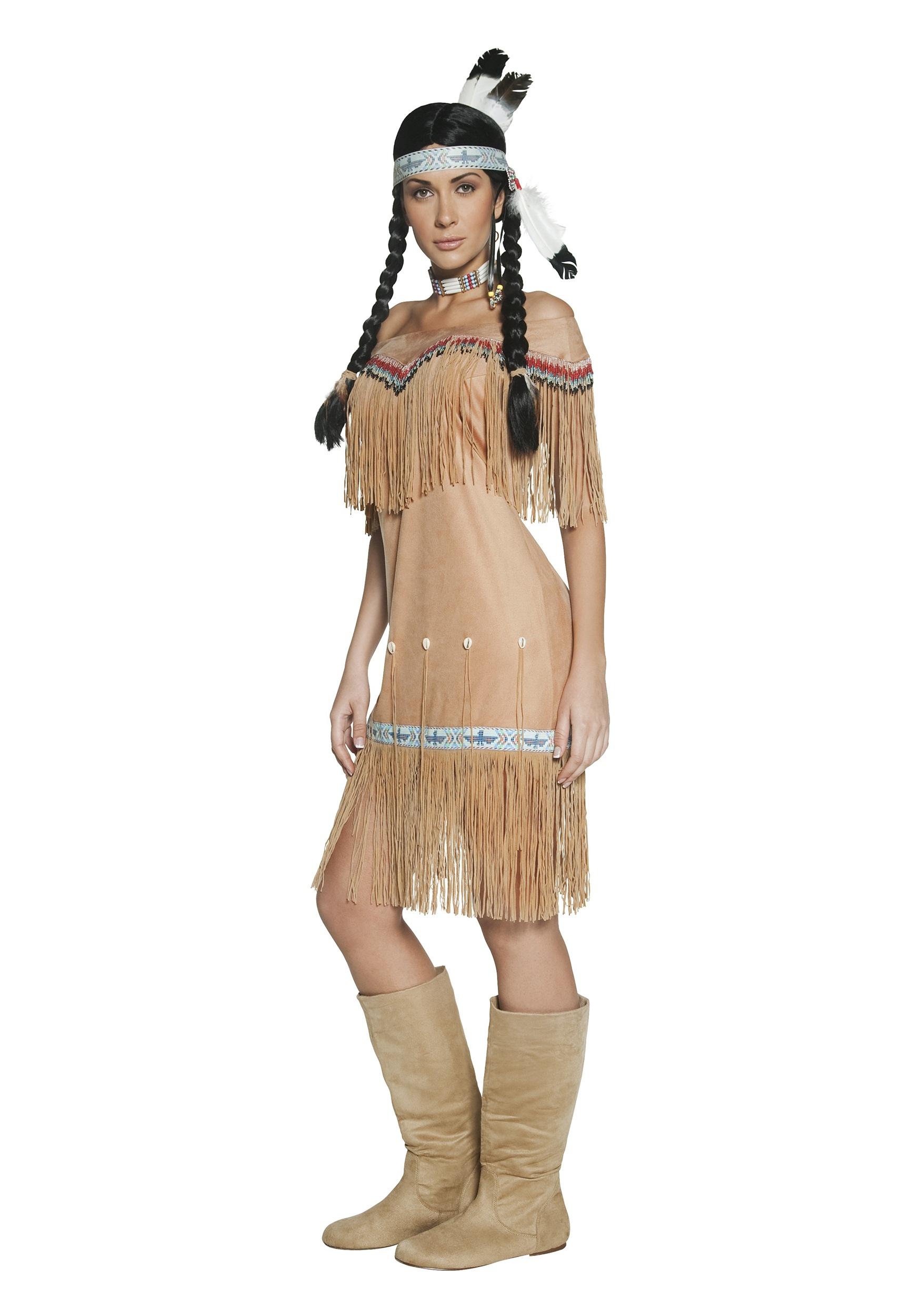 women 39 s native american costume. Black Bedroom Furniture Sets. Home Design Ideas