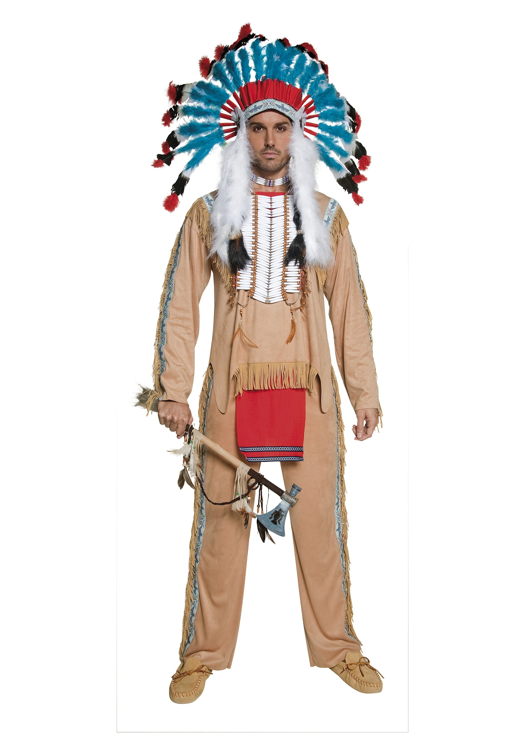 Authentic Western Native American Headdress-7253