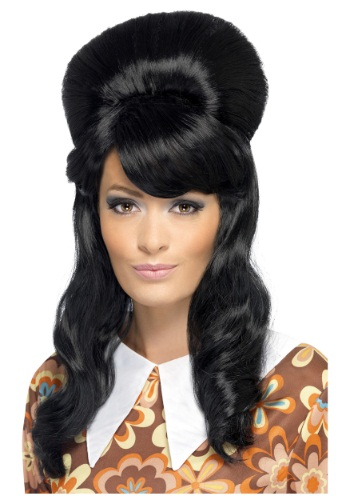 Click Here to buy 60s Brigitte Bouffant Wig from HalloweenCostumes, CDN Funds