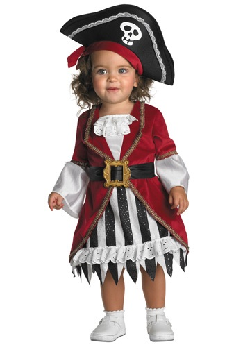 CUTE TODDLER GIRL PIRATE COSTUME