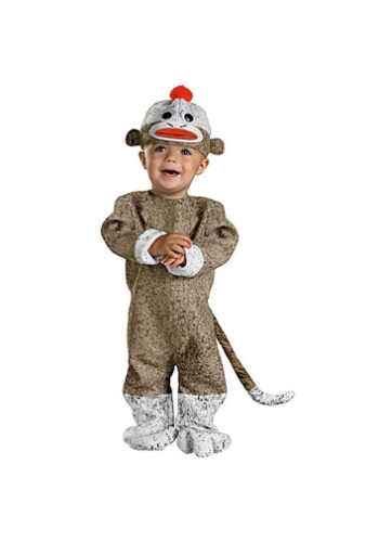 Image  Infant Sock Monkey Costume