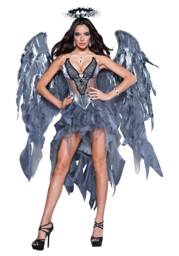 Click Here to buy Adult Dark Angels Desire Costume from HalloweenCostumes, USA Funds & Shipping