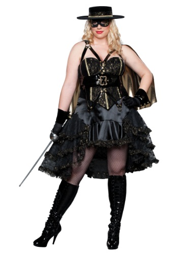 Plus Size Beautiful Bandida Costume By: In Character for the 2015 Costume season.