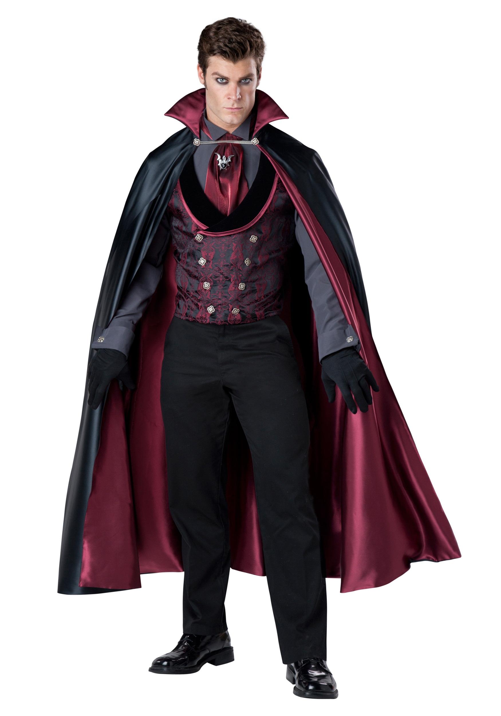 Mens Nocturnal Count Vampire Costume - Vampire Costumes