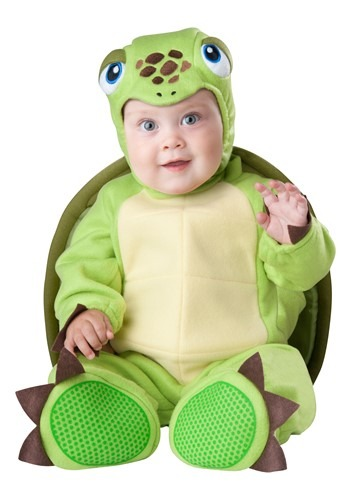 Click Here to buy Tiny Turtle Baby Costume from HalloweenCostumes, USA Funds & Shipping