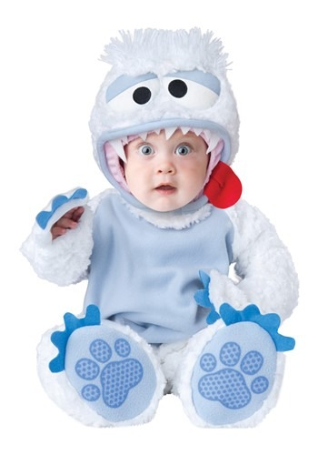 Click Here to buy Abominable Snowbaby Baby Costume from HalloweenCostumes, USA Funds & Shipping
