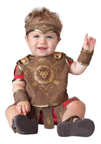 Click Here to buy Baby Gladiator Costume from HalloweenCostumes, USA Funds & Shipping