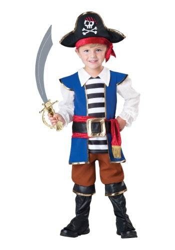 Toddler Pirate Captain Costume By: In Character for the 2015 Costume season.