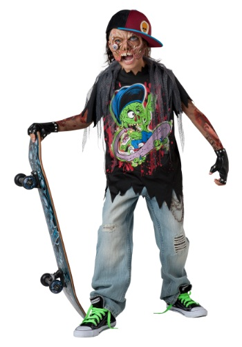 Zombie Sk8r Child Size Costume