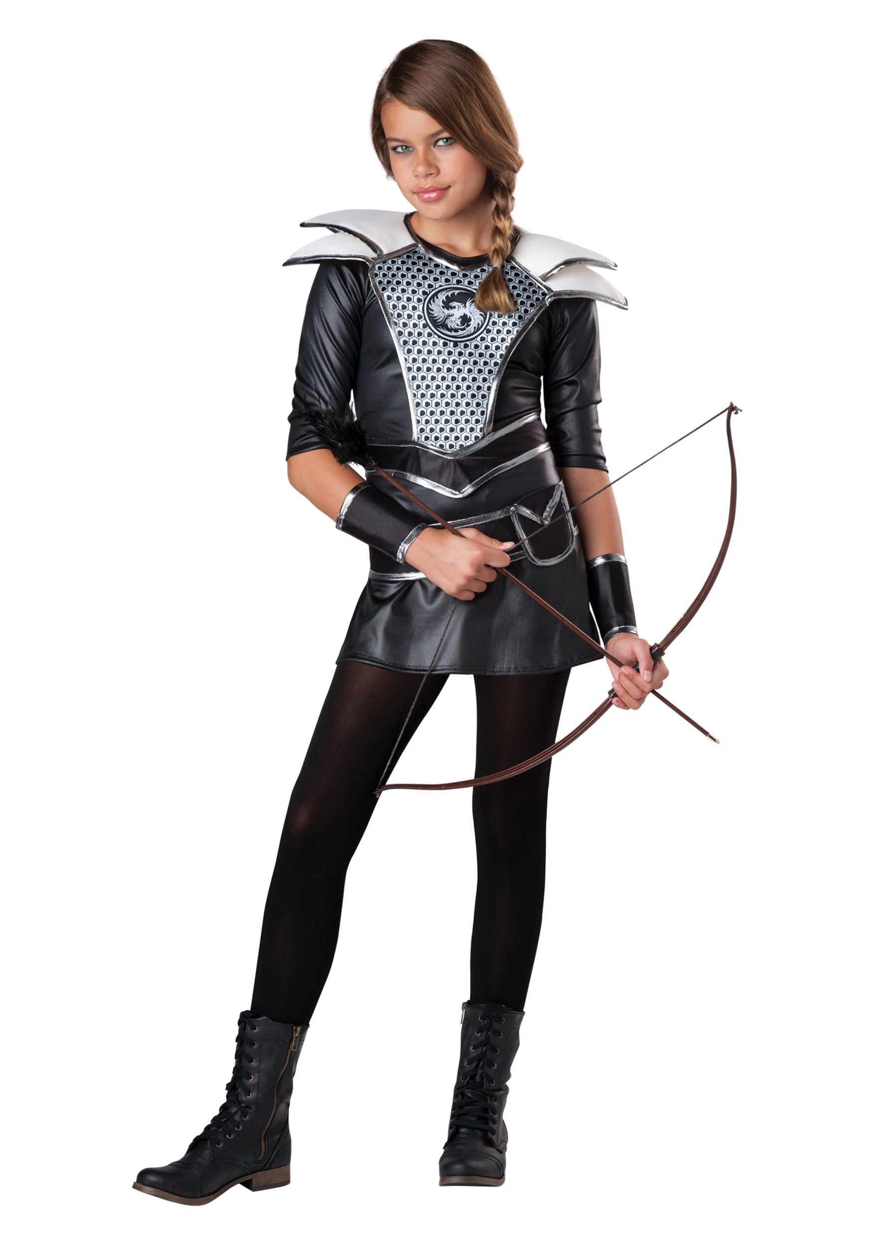Tween midnight huntress costume for Cool halloween costumes for kids girls