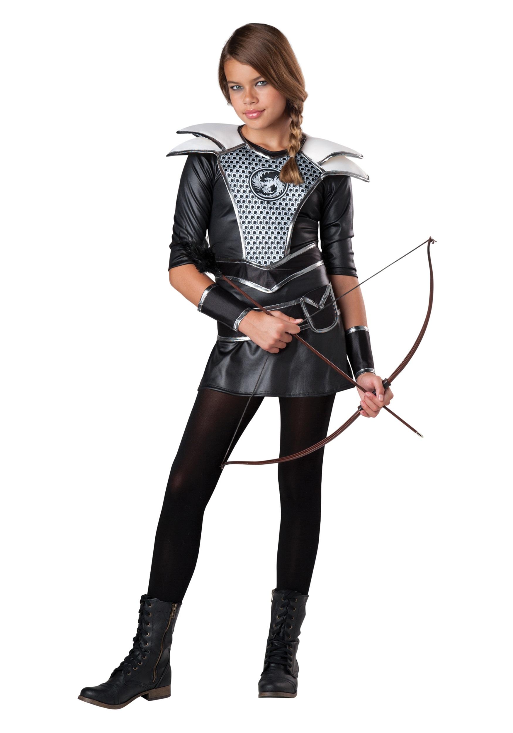 Teen Halloween Costume Ideas teen girls midnight vampire costume Tween Midnight Huntress Costume