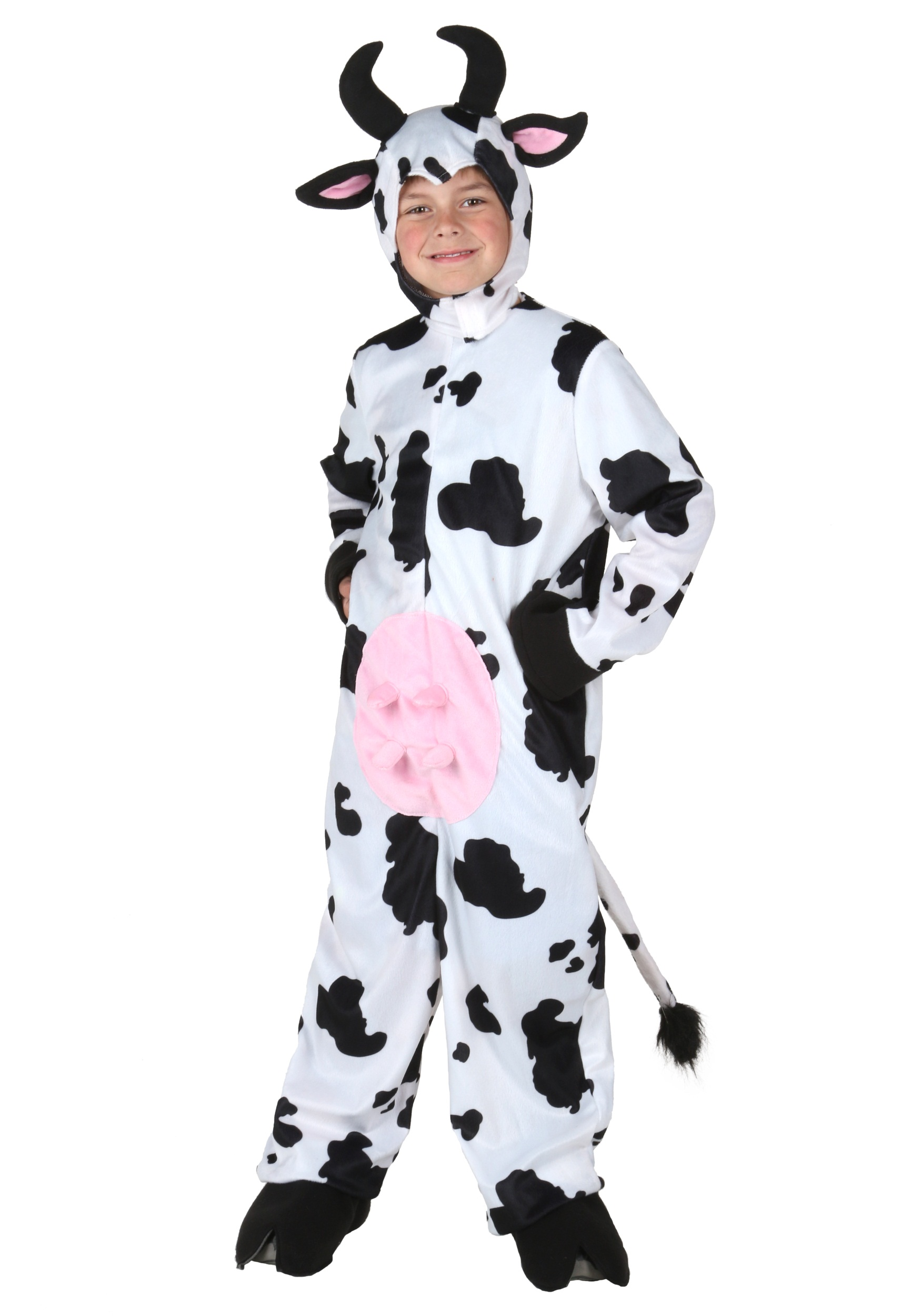 Adult cow halloween costume