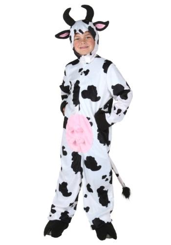 Kids Deluxe Cow Costume