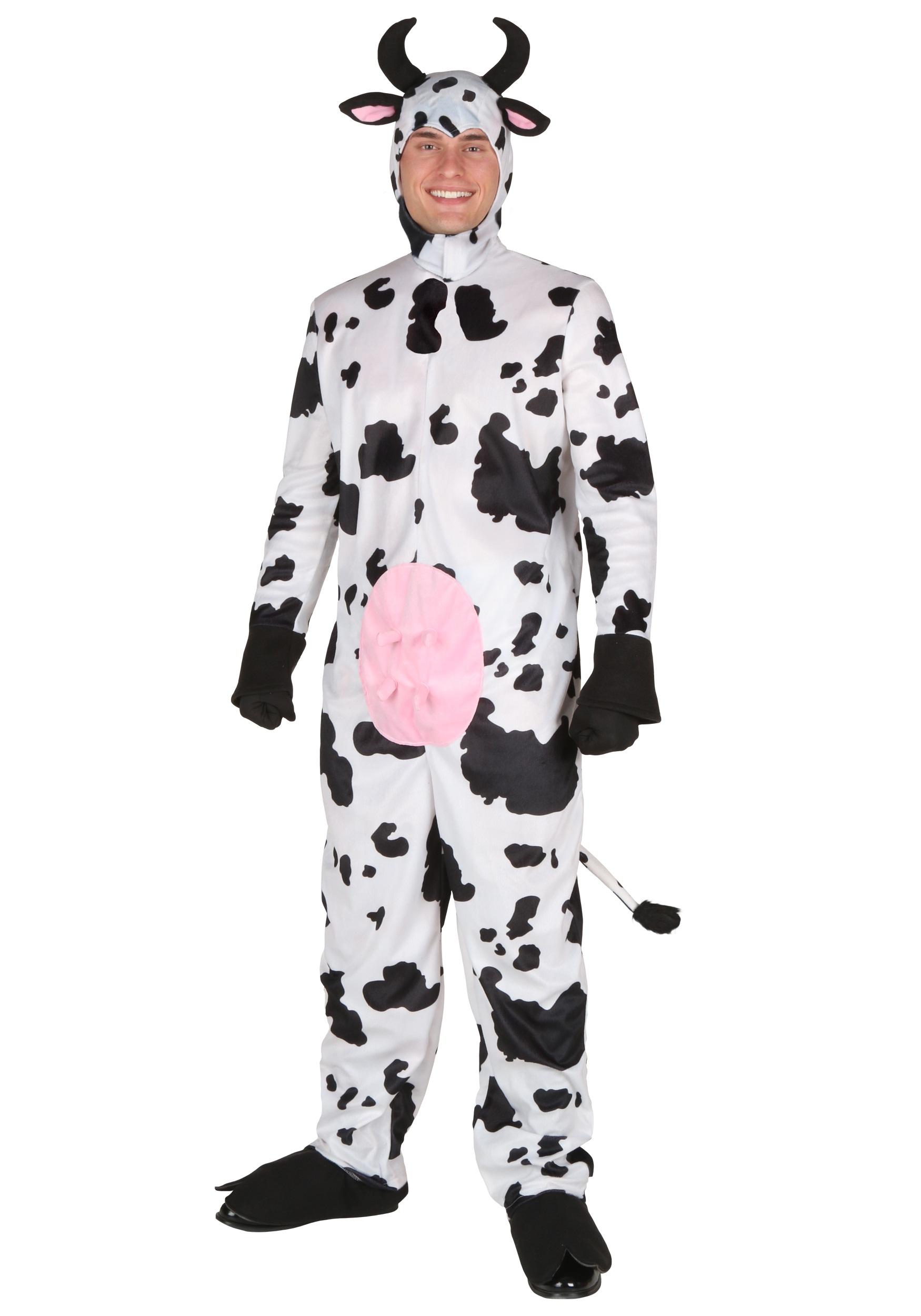 adult happy cow costume - Halloween Costume Cow