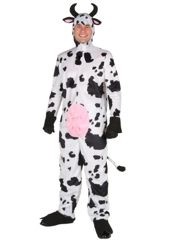 Image of Adult Happy Cow Costume