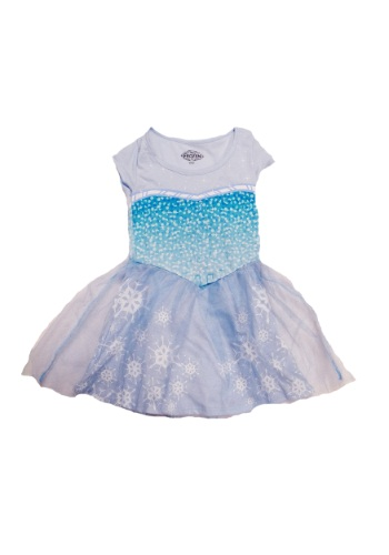 Tween Frozen I Am Elsa Dress