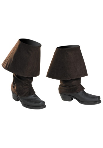 Click Here to buy Jack Sparrow Adult Boot Covers from HalloweenCostumes, CDN Funds