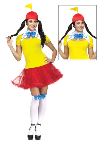 Sexy Tweedle Dee and Dum Adult Costume By: Fun World for the 2015 Costume season.