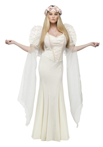 Ivory Angel Adult Costume