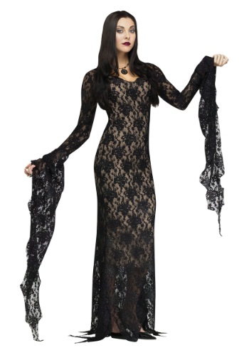 Click Here to buy Lace Miss Darkness Adult Costume from HalloweenCostumes, USA Funds & Shipping