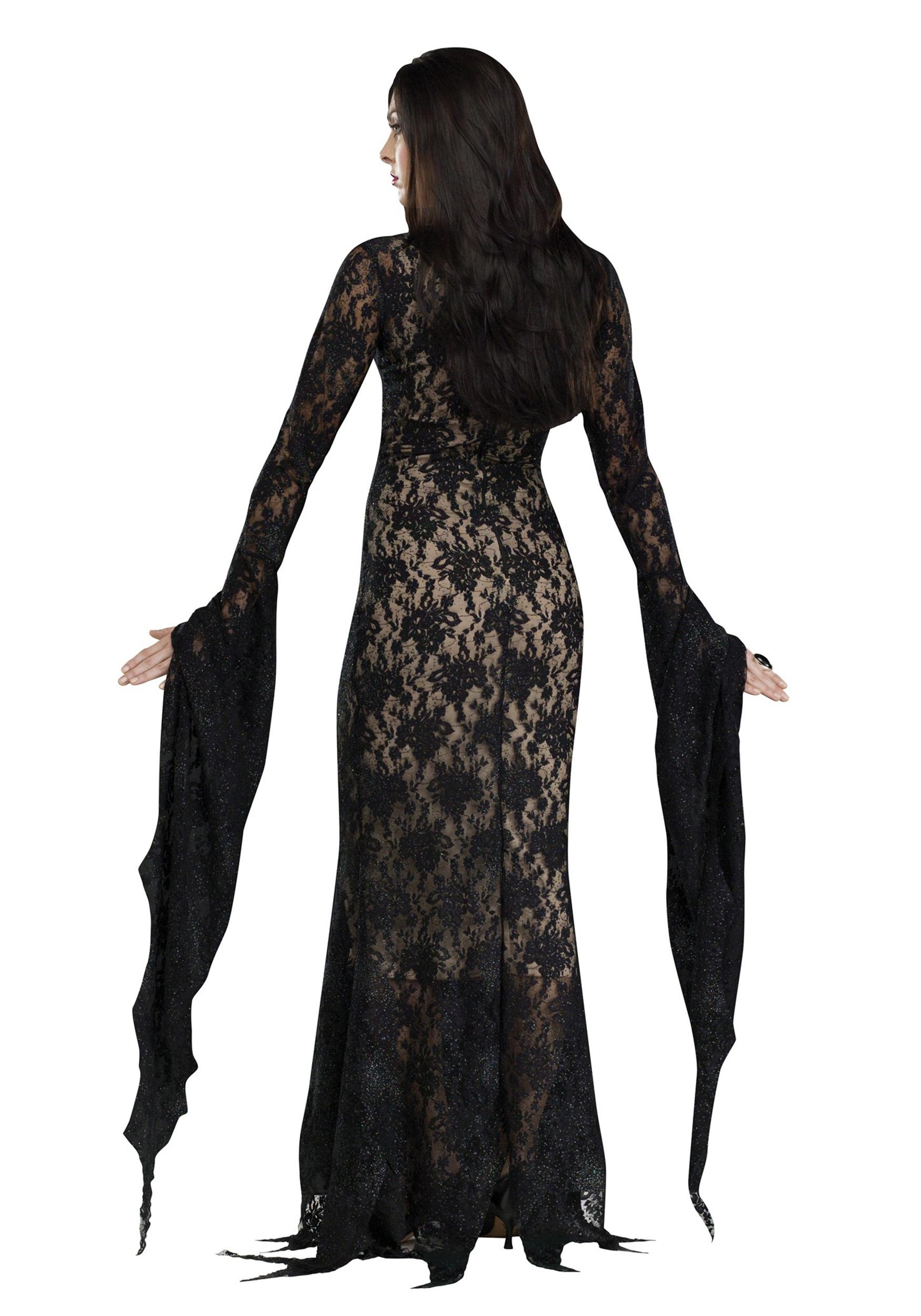 costume sexy morticia