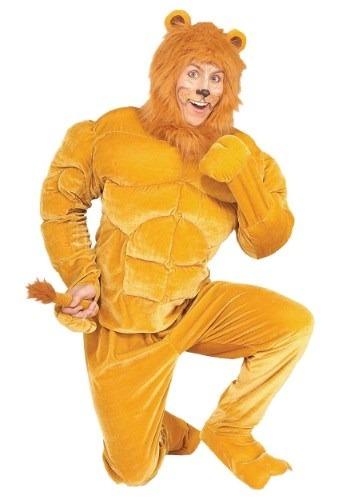 Plus Size Macho Lion Costume Main UPD