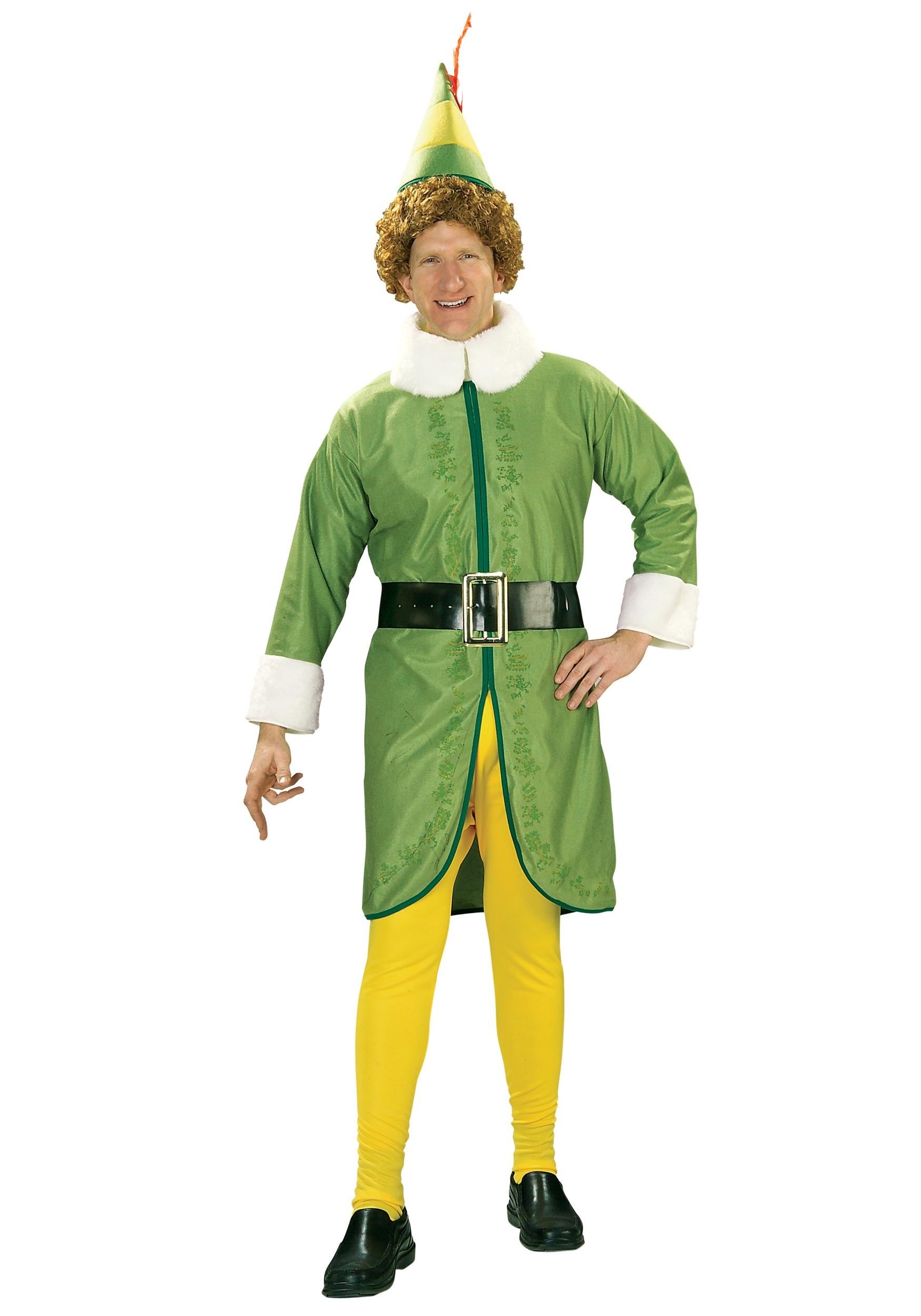 Men\'s Plus Size Buddy the Elf Costume