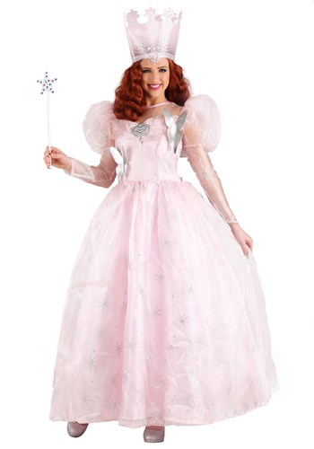 Deluxe Wizard of Oz Glinda the Good Witch Plus Size Costume