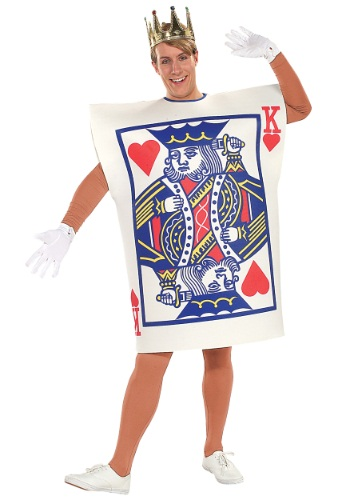 Plus Size King of Hearts Costume