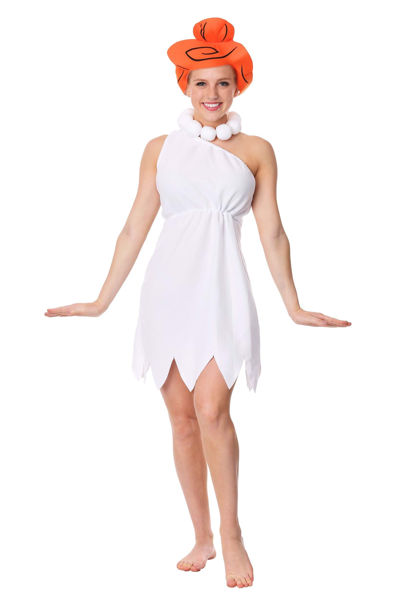 sc 1 st  Halloween Costumes & Plus Size Wilma Flintstone Costume