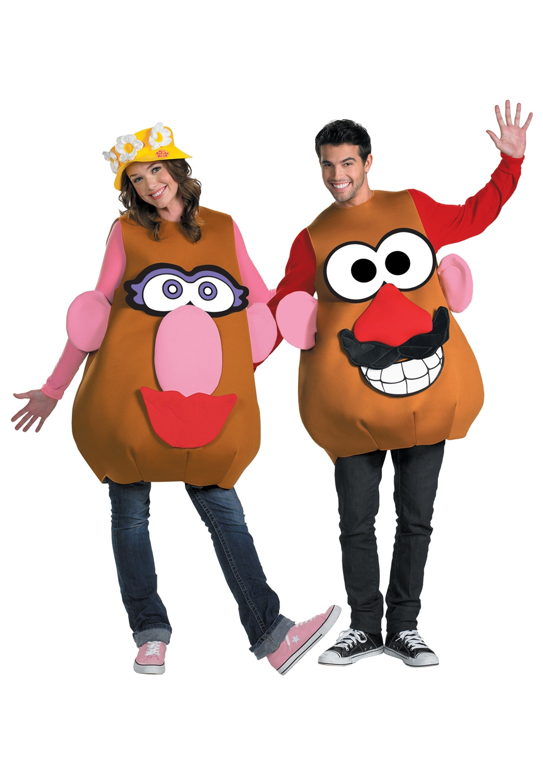 mr mrs potato head plus size costume - Halloween Food Costume