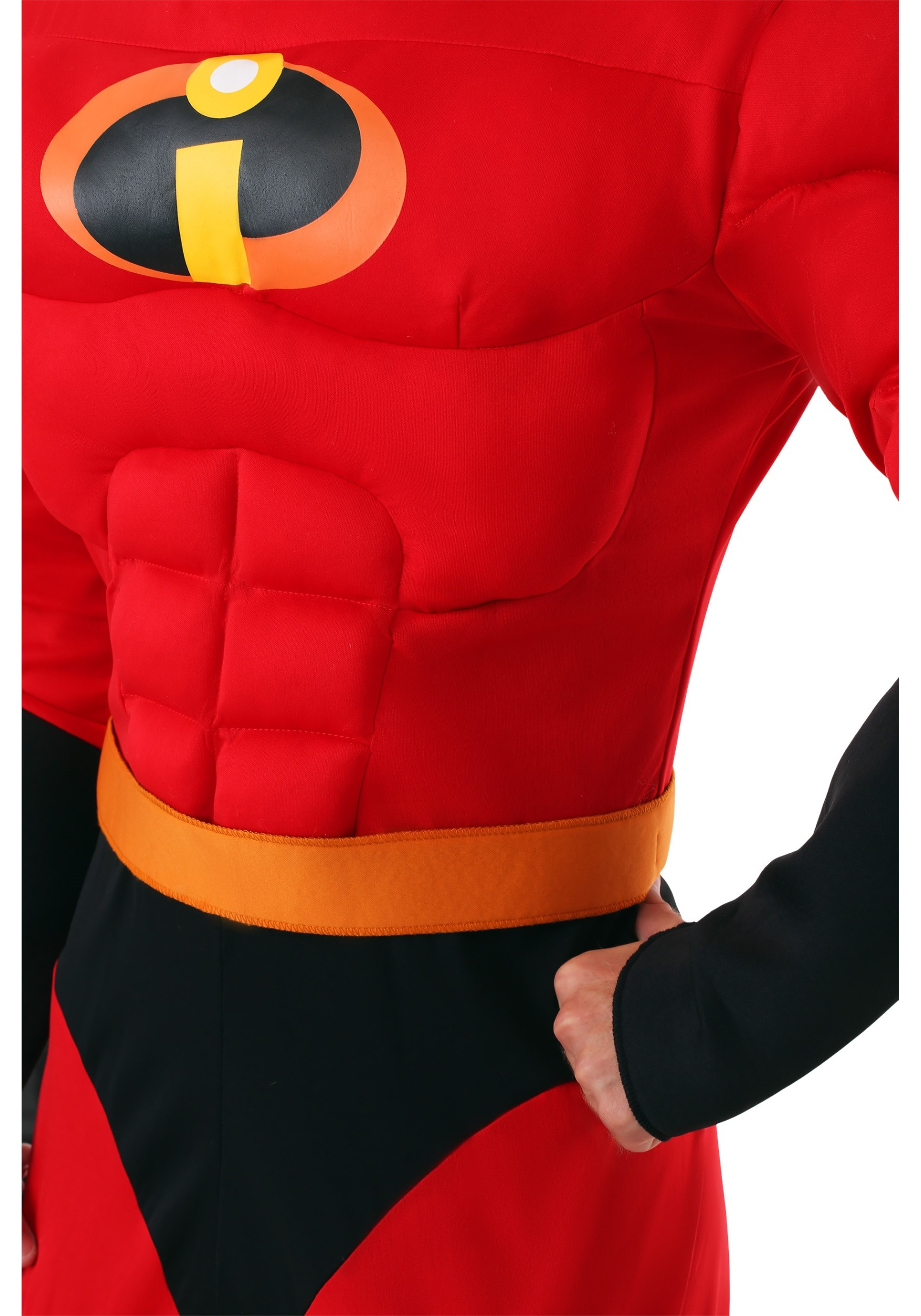 Adult XL The Incredibles Mr Incredible Muscle Costume