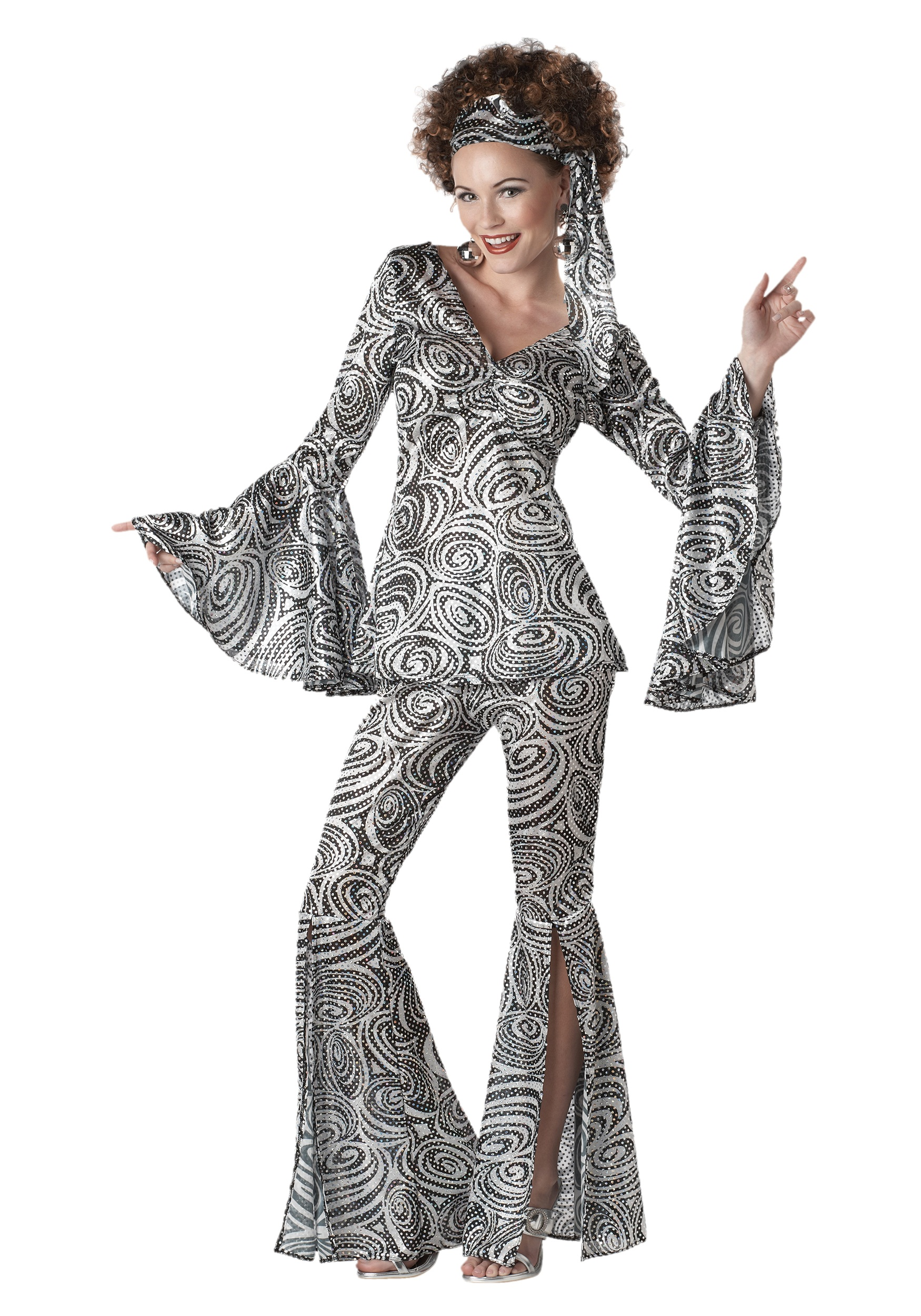 Women S Foxy Lady Disco Costume