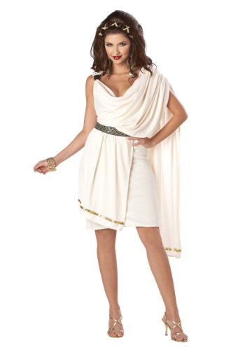 Women's Deluxe Classic Toga Costume By: California Costume Collection for the 2015 Costume season.