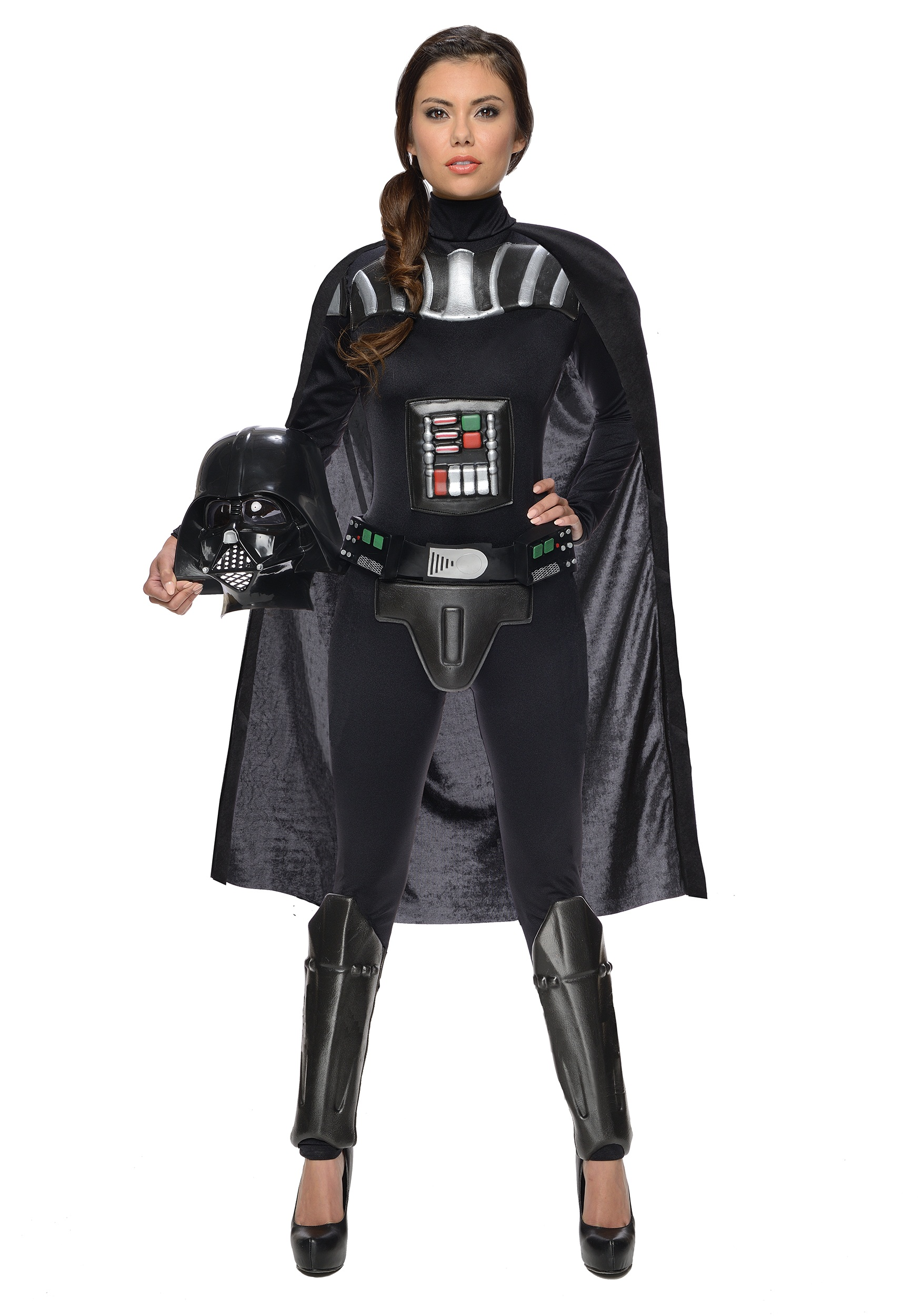 star wars female darth vader bodysuit costume. Black Bedroom Furniture Sets. Home Design Ideas