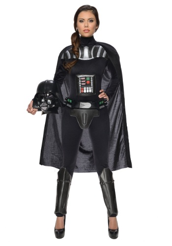 Click Here to buy Star Wars Female Darth Vader Bodysuit Costume from HalloweenCostumes, CDN Funds
