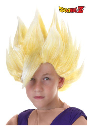 Child Gohan Wig By: Partytime Costume & Lingerie (Yiwu) Factory for the 2015 Costume season.